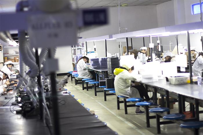灯具组装生产线